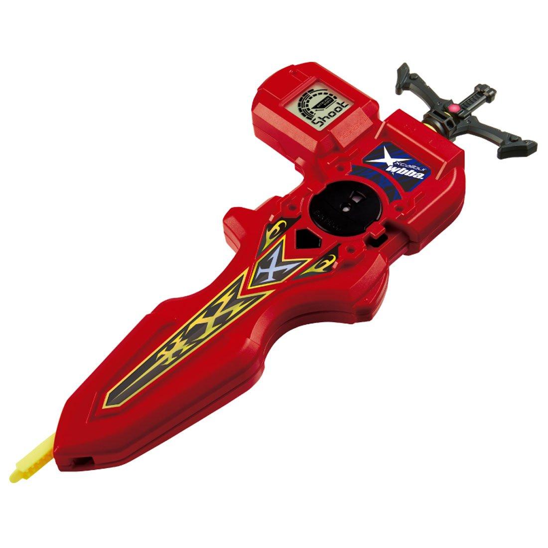 Takaratomy  Beyblade Burst B-94 Digital Sword Launcher, Red by Takara Tomy