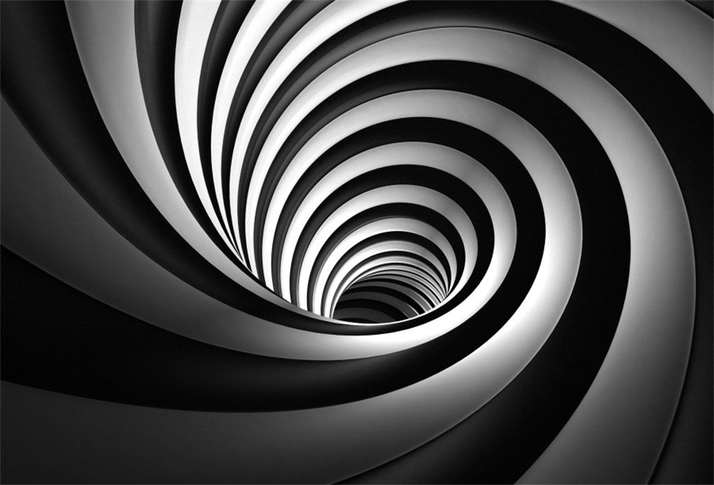 AOFOTO 8x6ft Eddy Vortex Backdrop Abstract Circles Whirlpool Photography Background Business Office Fashion Creative Canal Helix Photo Studio Props Kid Boy Adult Artistic Portrait Vinyl Wallpaper