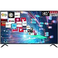 CRUA 102.6 cm (40 Inches) HD Ready Smart LED TV CJDS40D1 (Black) (2019 Model)