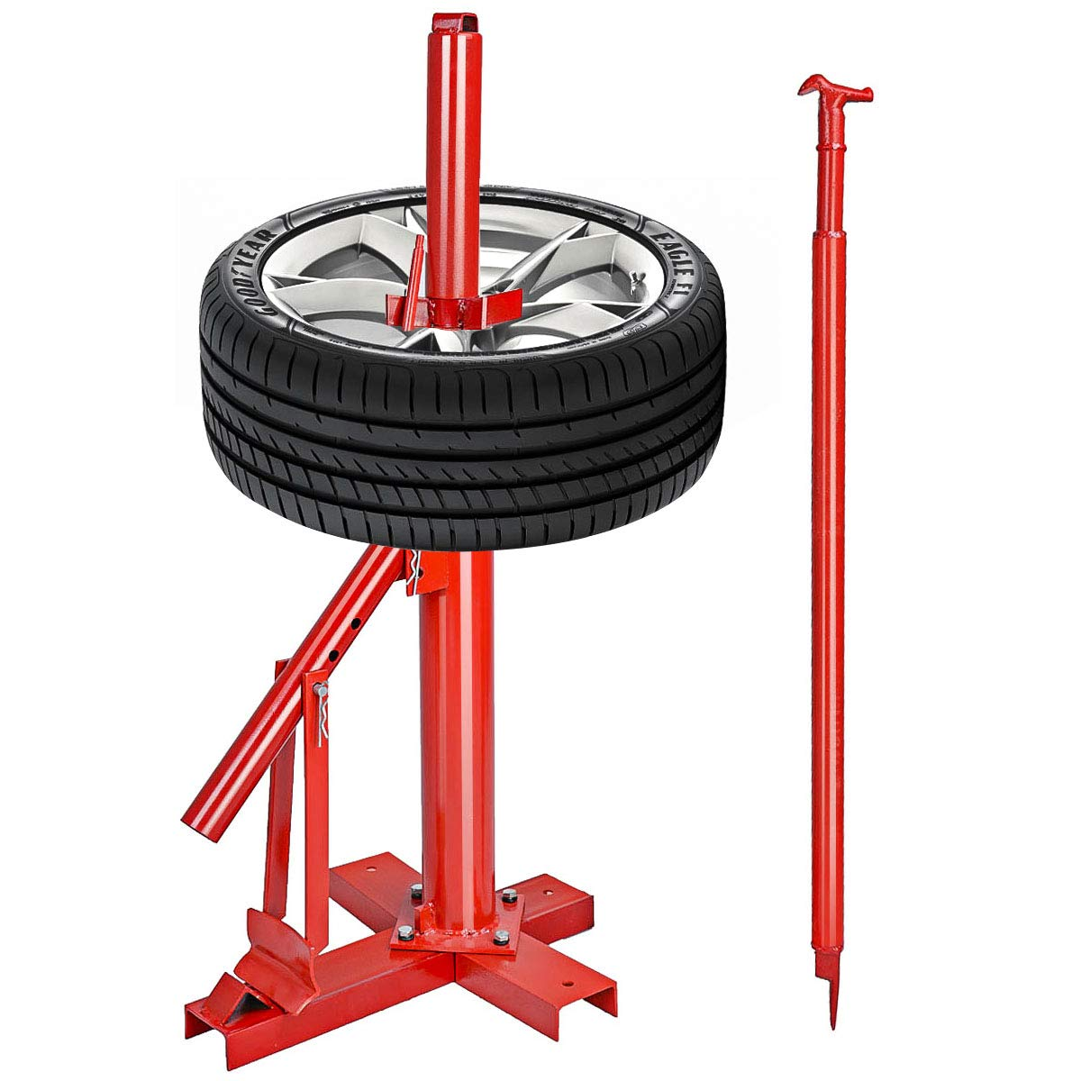 Goplus Manual Portable Hand Tire Changer Bead Breaker Tool Mounting Home Shop Auto by Goplus (Image #6)