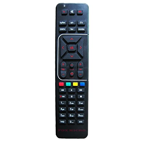 Fox Micro Compatible AIRTEL Dth Set Top Box Remote Controller