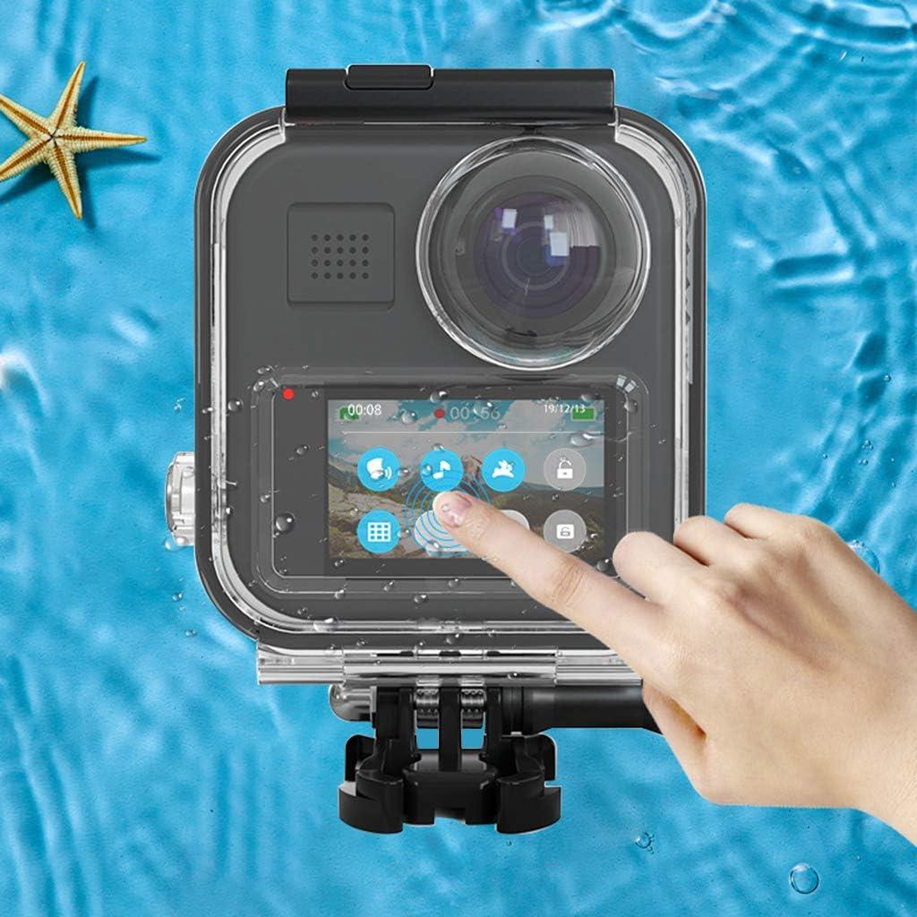 huiingwen Custodia impermeabile per Go Pro 360 / GoPro Max fotocamera panoramica 2 1