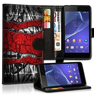 Wallet Wicostar–Funda Case Funda Carcasa diseño Funda para Samsung Galaxy S7Edge SM–G935–Diseño Flip mvd73
