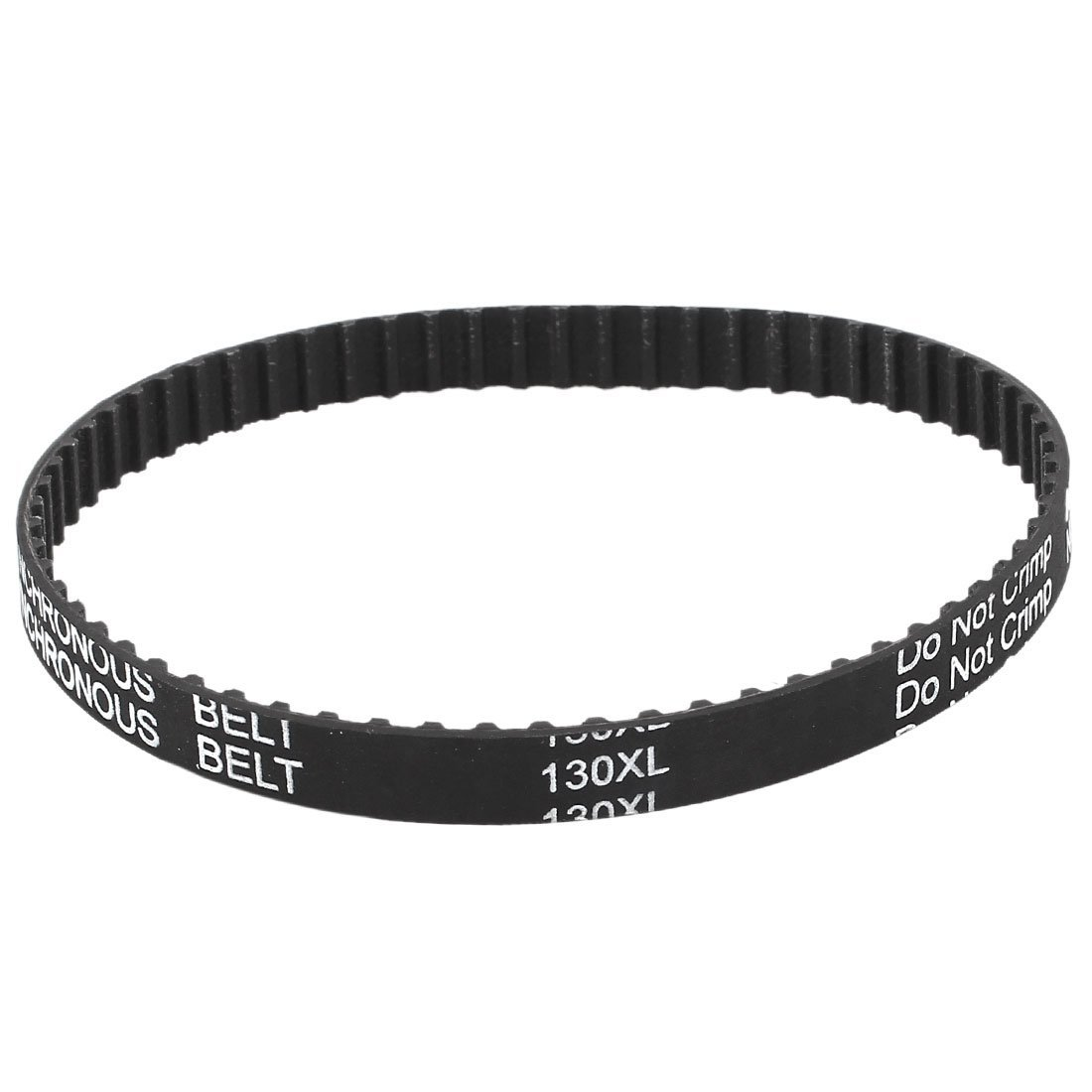 Rubber 13 inches Long 330.2mm Step Length 65T 9.5mm Width Industrial Timing Belt 130XL 037