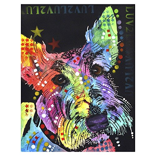 ImagesPrinted Scottish Terrier 10x13 Metal Artwork Ready to Hang Wall Decor by Dean Russo