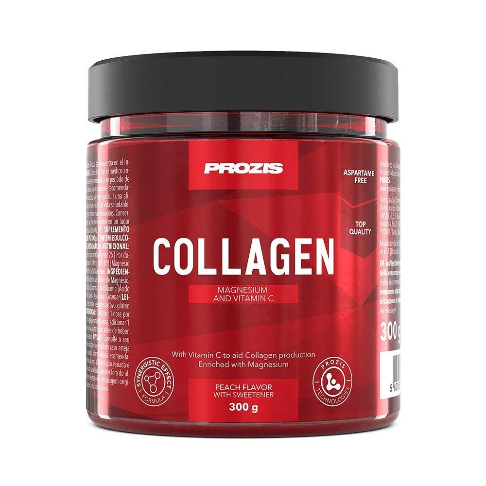 Prozis Collagen y Magnesio, Sabor Frutas del bosque - 300 gr