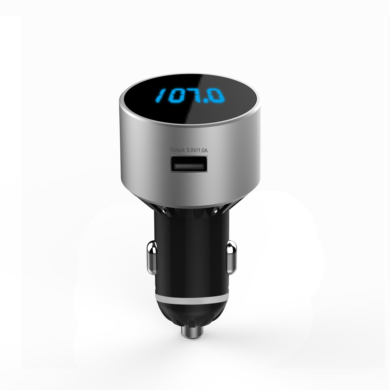 2.1A Transmetteur FM Bluetooth TeckNet Transmetteur FM sans Fil Universel Voiture Adaptateur Chargeur de Voiture USB 5V