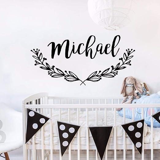 zqyjhkou Nursery Decor Pegatinas de Pared Extraíbles Babys Room ...