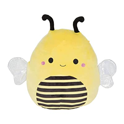 Squishmallow Kellytoy Bugs Life 8 inch Sunny The Bee- Super Soft Plush Toy Pillow Pet Animal Pillow Pal Buddy Stuffed Animal Birthday Gift Holiday: Home & Kitchen
