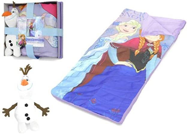 Disney La Reine des Neiges Sac de Couchage avec Olaf: Amazon