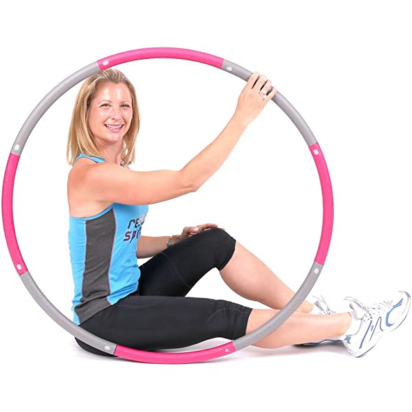 Mirafit Weighted Fitness Hula Hoop Choice of Colours