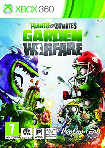 Plants Vs Zombies: Garden Warfare (Xbox 360) Xbox Live Gold required to play UK IMPORT