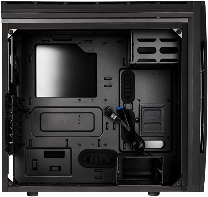 Alchemy 3.0 Addressable Asus Aura SYNC RGB with Controller BFC-ENS-150-KKWGK-RP ATX Case Tempered Glass BitFenix Enso Black