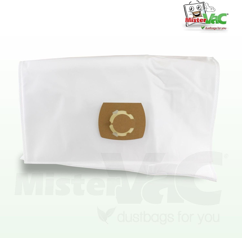 10 sacchetti per aspirapolvere adatti per K/ärcher NT 65//2 Eco