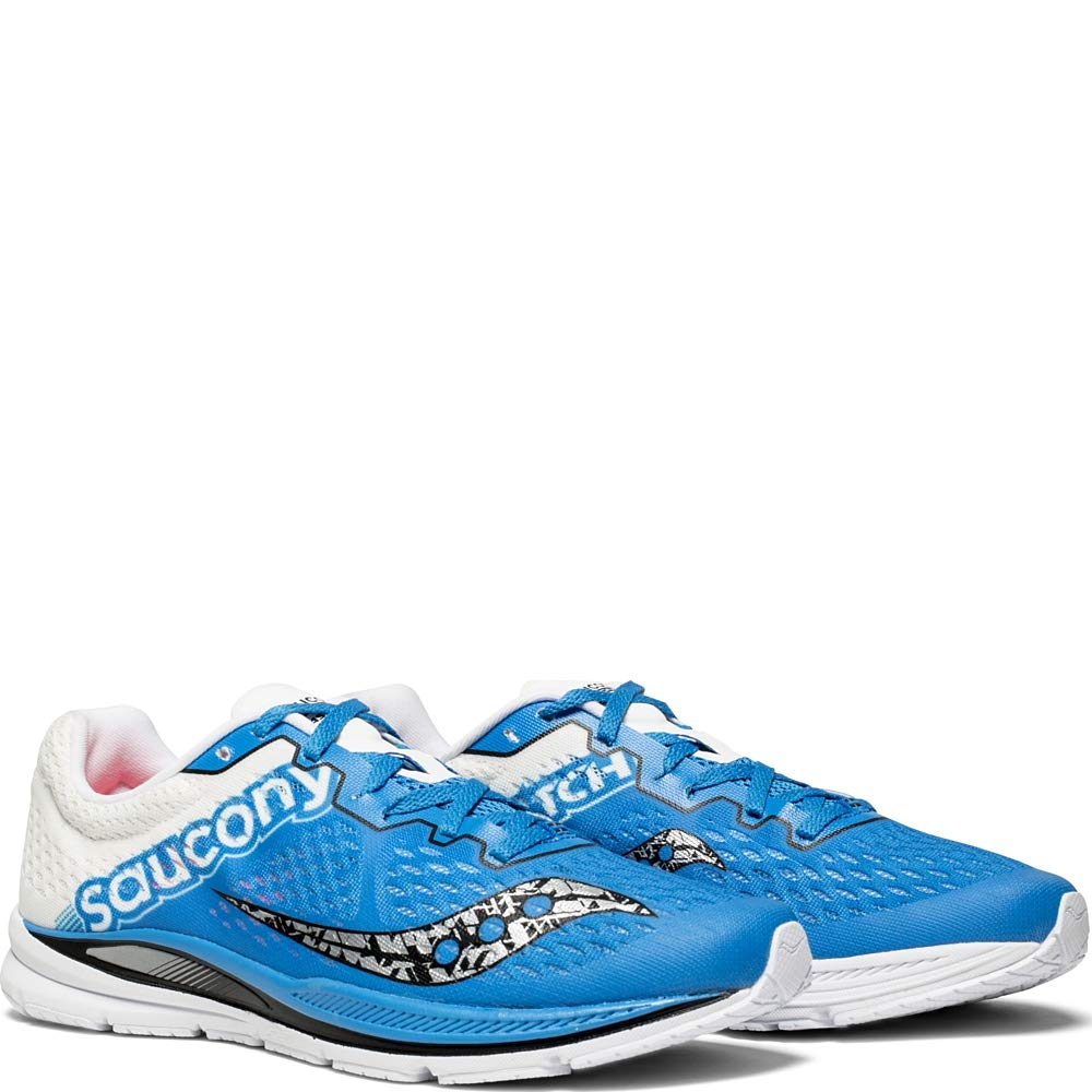 2fbc4bd879 Saucony Men's Fastwitch 8 Cross Country Running Shoe, Blue/White, 13 ...