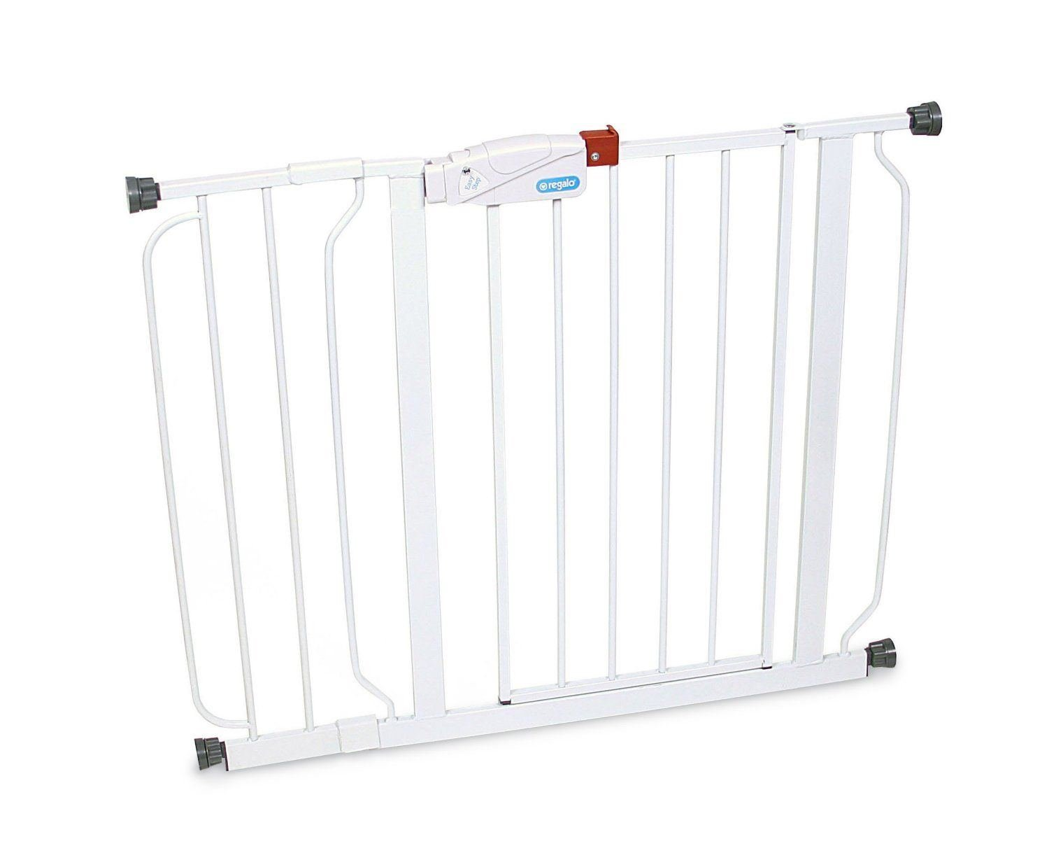 Hot Sale White Regalo Easy Step Walk Thru Gate, Baby Toddler Pet Child Safety Doorway