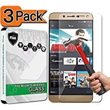 [3-Pack] LeEco - Le S3 Screen Protector, PThink Tempered Glass Screen Protector for LeEco - Le S3 with 9H Hardness/Anti-scratch/Fingerprint resistant