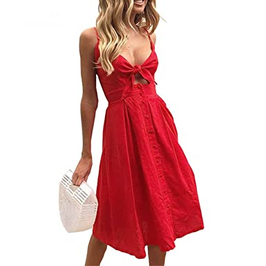 Spaghetti Strap Bohemian Dress
