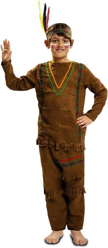 My Other Me - Disfraz de Indio con pantalón, Talla 3-4 años ...
