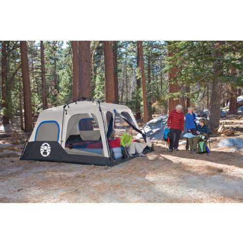 Coleman Instant 8 Person Tent Blue 14x10 Feet Desertcart