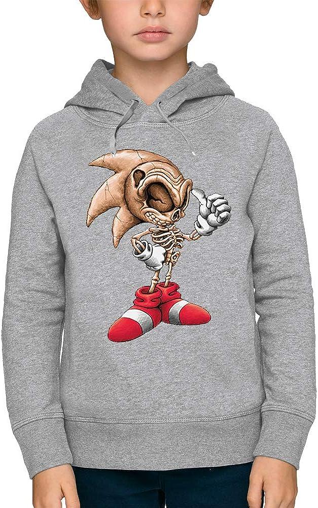 PIXEL EVOLUTION Sweat à Capuche Squelette Sonic Enfant