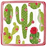Christmas Paper Plates Dessert Plates Christmas Party Holiday Party Christmas Southwest 7.25'' Pk 16