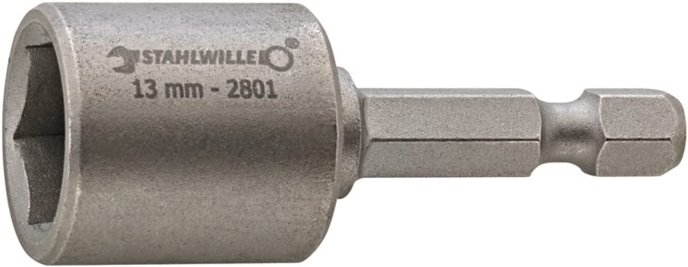 /Mund Steckschl/üssel Magnetische Verbindung Schnelle//oder 1//4/Durchmesser 12/mm Stahlwille 2801/N 7/