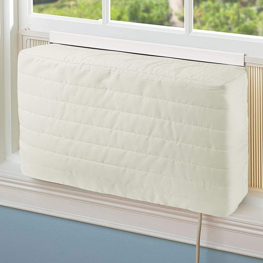 COSFLY Indoor Air Conditioner Cover AC Unit Covers for Inside 28 x 20 x 3 inches(L x Hx D)