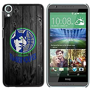 LOVE FOR HTC Desire 820 Minnesota Wolves Basketball Personalized Design Custom DIY Case Cover