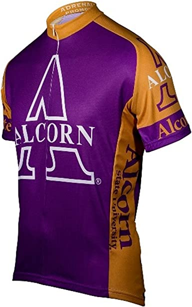 NCAA Men/'s Adrenaline Promotions LSU Tigers Road Cycling Jersey