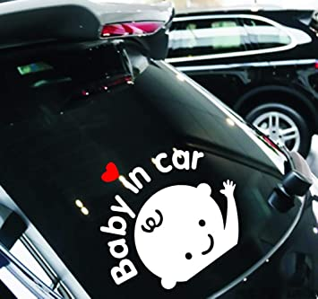 FineFun Baby in Car|Baby on Board Autocollants pour Voiture