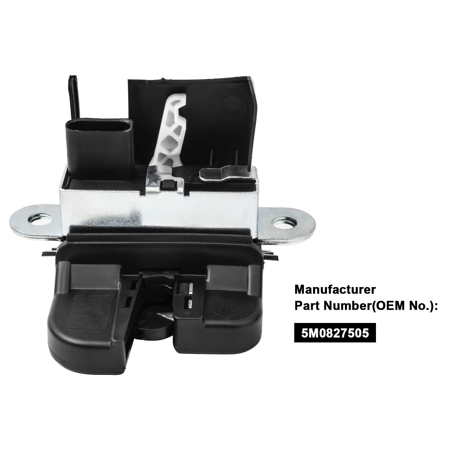 YAOPEI Tailgate Central Lock Actuator Catch Latch 5M0827505E