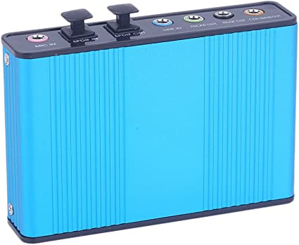 DIGIFLEX External Sound Card USB 6 Channel 5.1 Audio