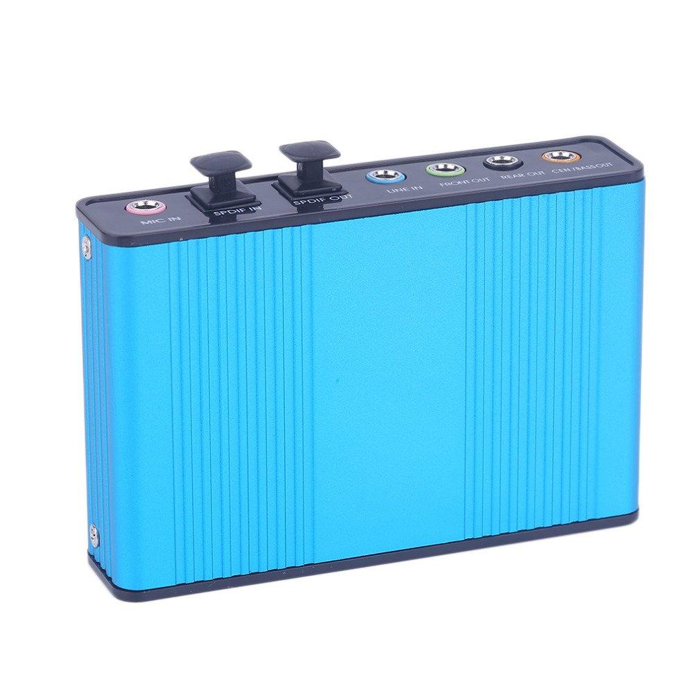 DIGIFLEX Scheda audio esterna USB 6 Canali 5.1 Audio YA21