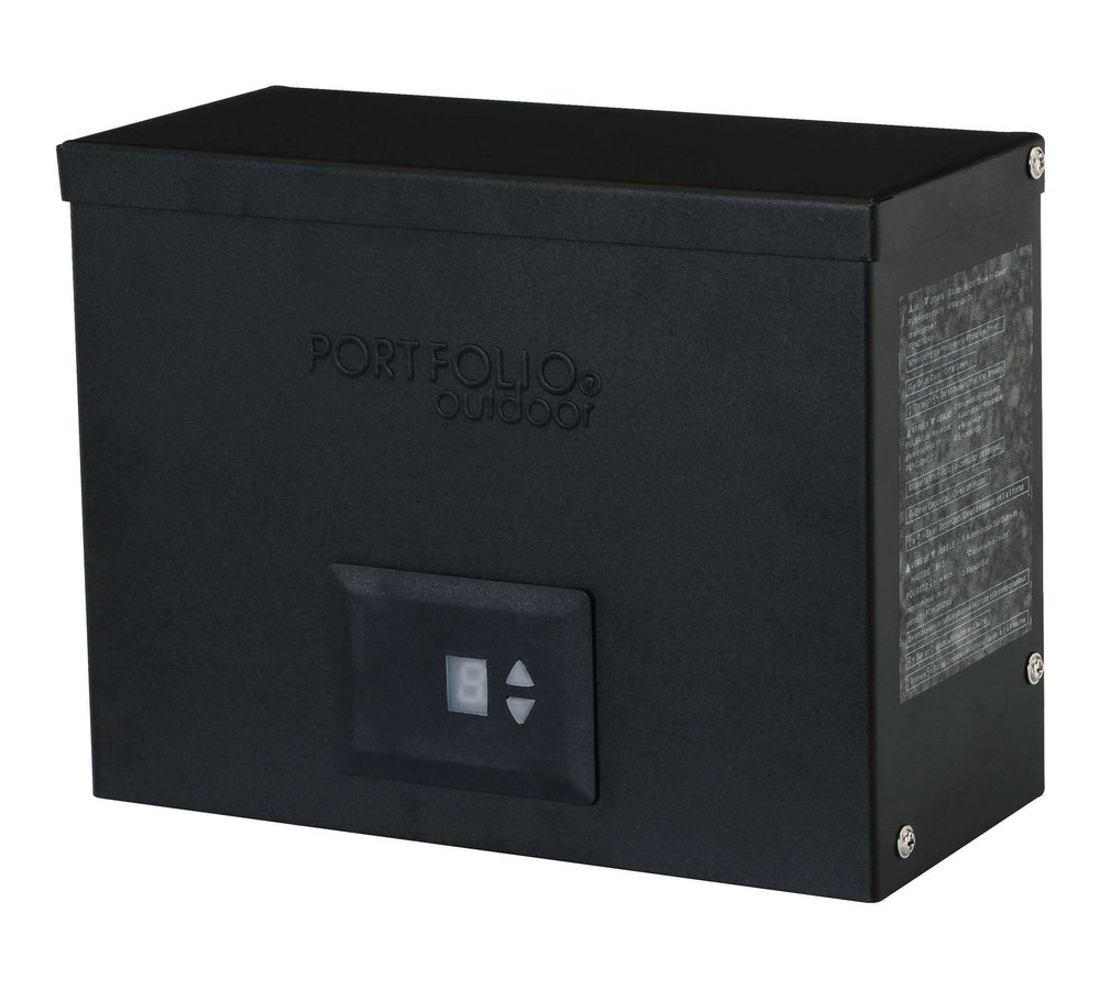 Portfolio 300 Watt Landscape Low-Voltage Power Pack Transformer, Two Terminal Connectons (534701) by Perry Ellis