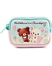 Japanese Sanrio San-X Rilakkuma Peanuts Snoopy Coin Purse Pouch Change Purse Card Holder with Zipper