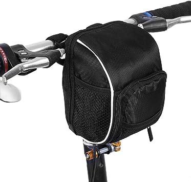 VGEBY Bolsa Delantera para Bicicleta, sillín de Almacenamiento ...