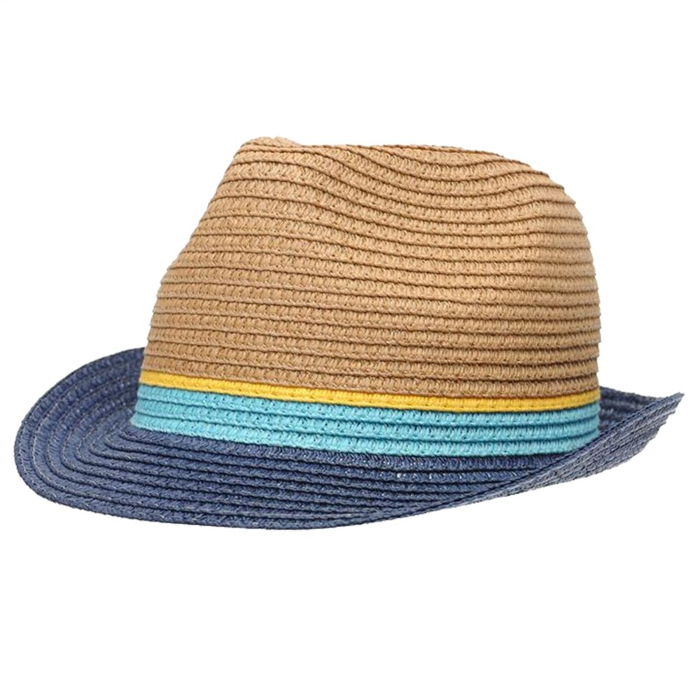 Firetrap/  Boys Trilby Hat Straw Construction