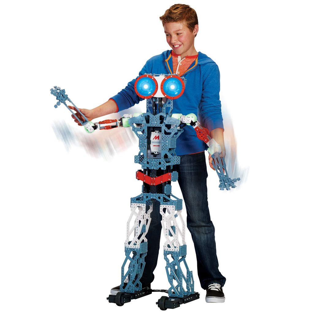 Meccano MeccaNoid G15KS 1243 Piece Robot Building Kit with Carrying Case by Meccano (Image #8)