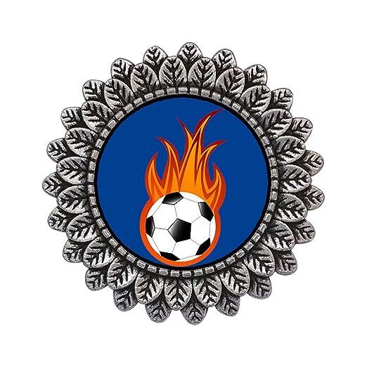 Estilo antiguo GiftJewelryShop placa de plata de la UEFA Euro ...
