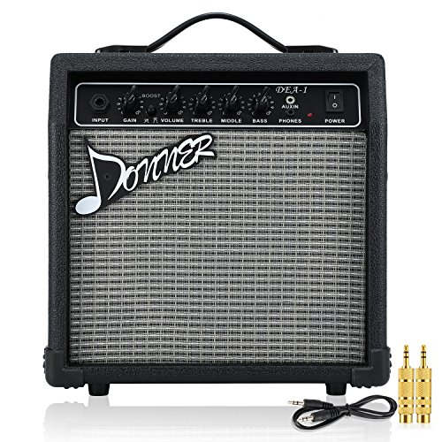 Donner Electric Guitar Amplifier 10 Watt Classical Guitar AMP ()