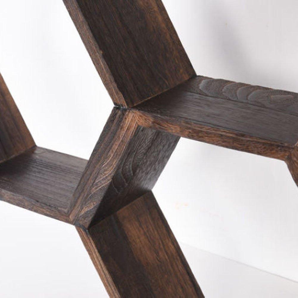 CHAOXIAN Massivholz Rahmen Wandregal Kreativ Wand Tee Rack ...