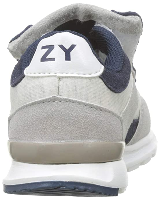 Amazon.com | ZIPPY Boys Zapatillas Com Cordones Elásticos para Niño Low-Top Sneakers, (Grey 860), 14 UK | Sneakers