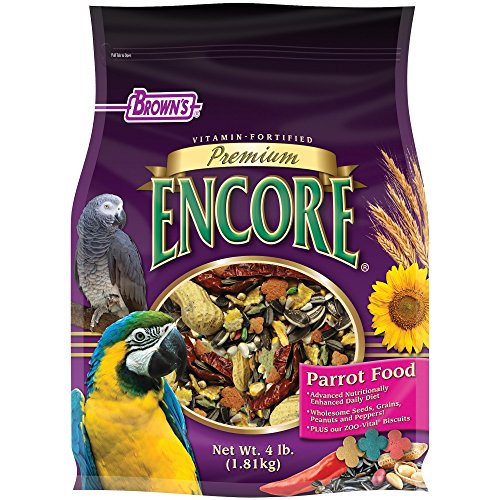 Encore Value Pack - F.M. Brown'S Encore Parrot Food, 4-Pound