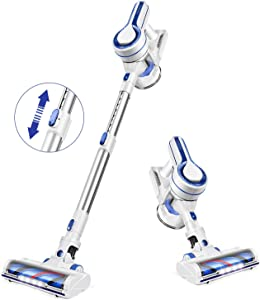 APOSEN Cordless Vacuum Cleaner, Upgraded Powerful Suction 4 in 1 Stick Vacuum Cleaner 35min-Running Detachable Battery, 1.2L Large-Capacity Dust Cup Vacuum Ideal for Hard Floor Carpet Pet Hair