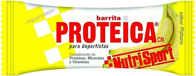 NUTRI-SPORT - BAR. PROTEICA PLATANO NS