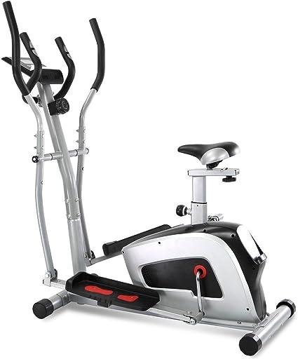 Bicicleta elíptica 2 en 1 Cómodo Exercize Ventilador bicicleta ...