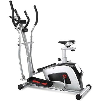 Bicicleta elíptica 2 en 1 Cómodo Exercize Ventilador bicicleta entrenamiento gimnasio en casa Trainning máquina