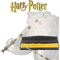 Varita de Saúco - Harry Potter - 34cm Tamaño Real Original - Varitas Mágicas de Colección (Sauco)
