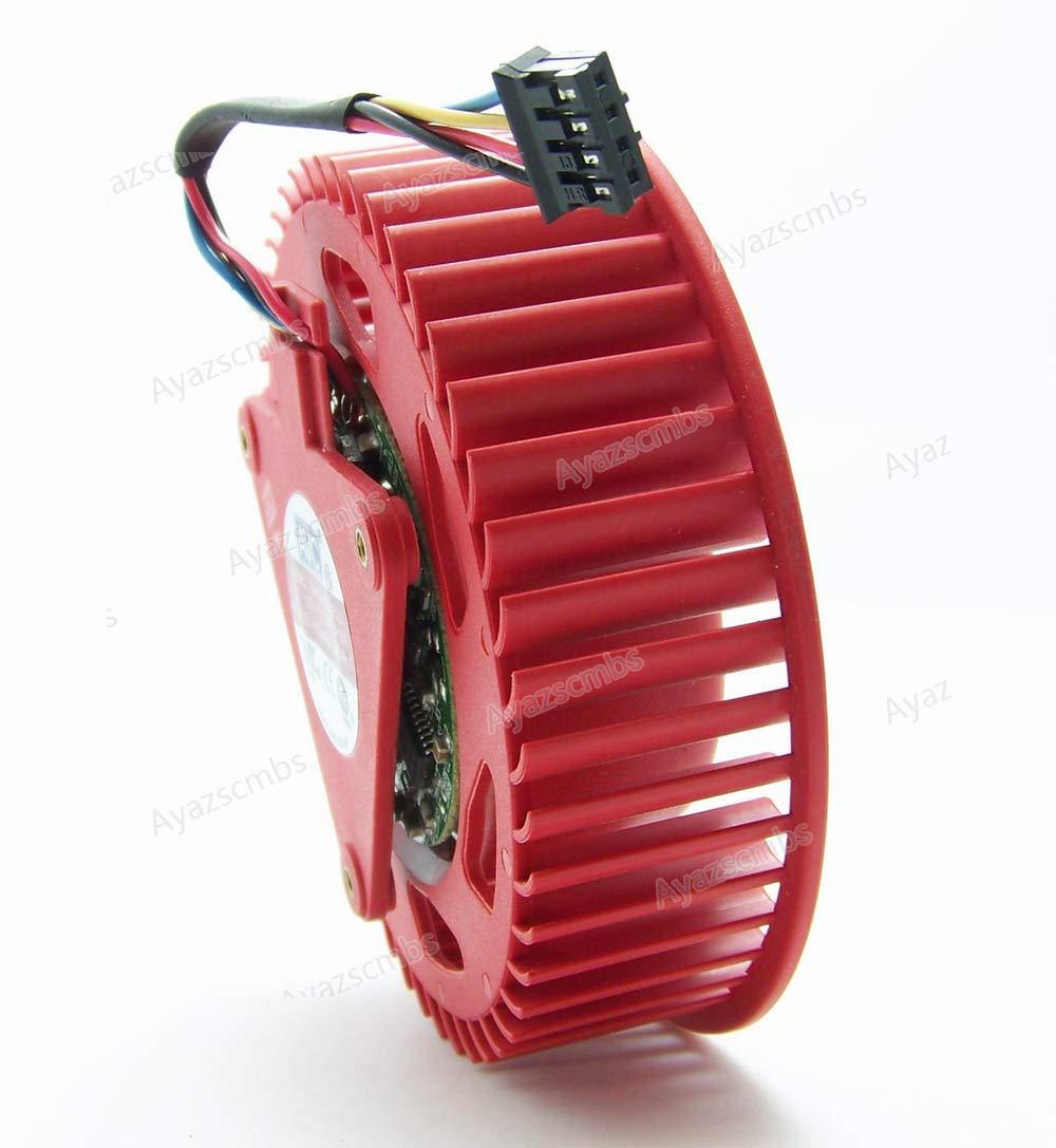 Ayazscmbs Compatible para BASA0725R2U 75mm ATI Radeon HD4870 5870 HD5850 5970 HD6970 Graphic Card Ventilador